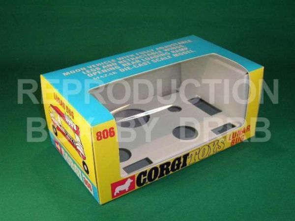Corgi #806 Lunar Bug - Reproduction Box